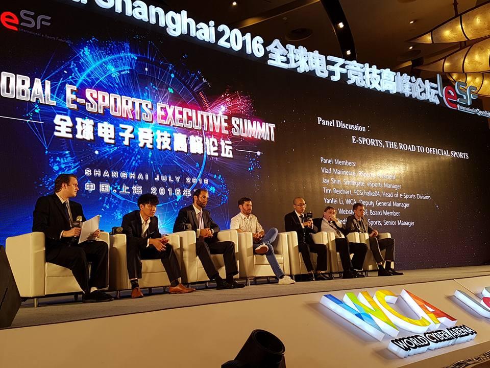 ការប្រជុំកំពូល Global e-Sports Executive Summit